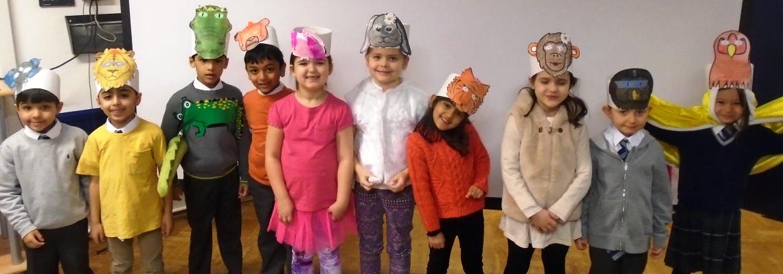 Year 1 activities at Normanhurst School