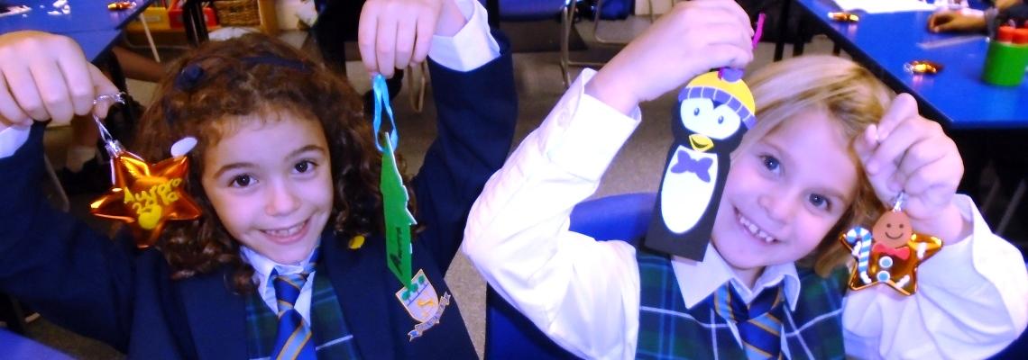 Christmas activities at Normanhurst School
