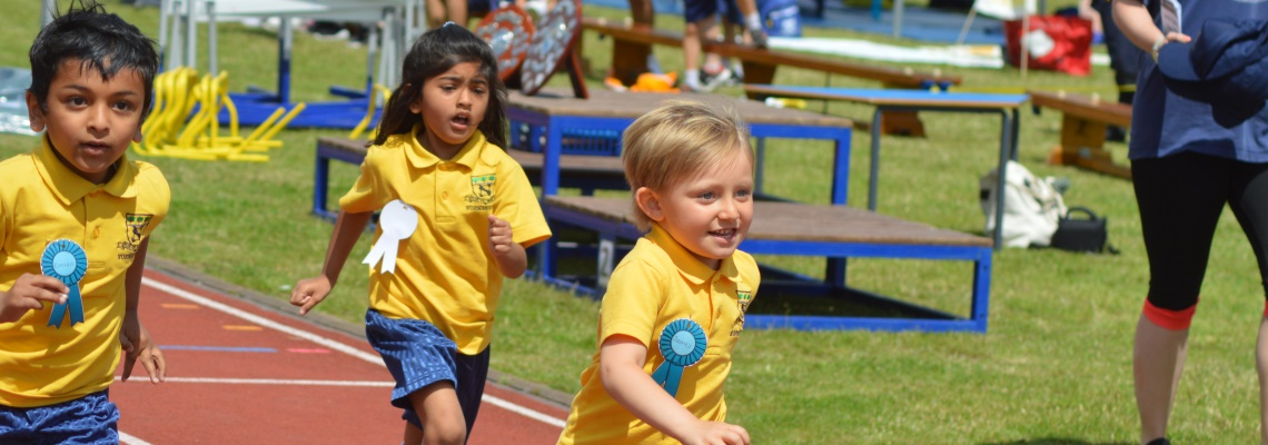 Sports day at Normanhurst School
