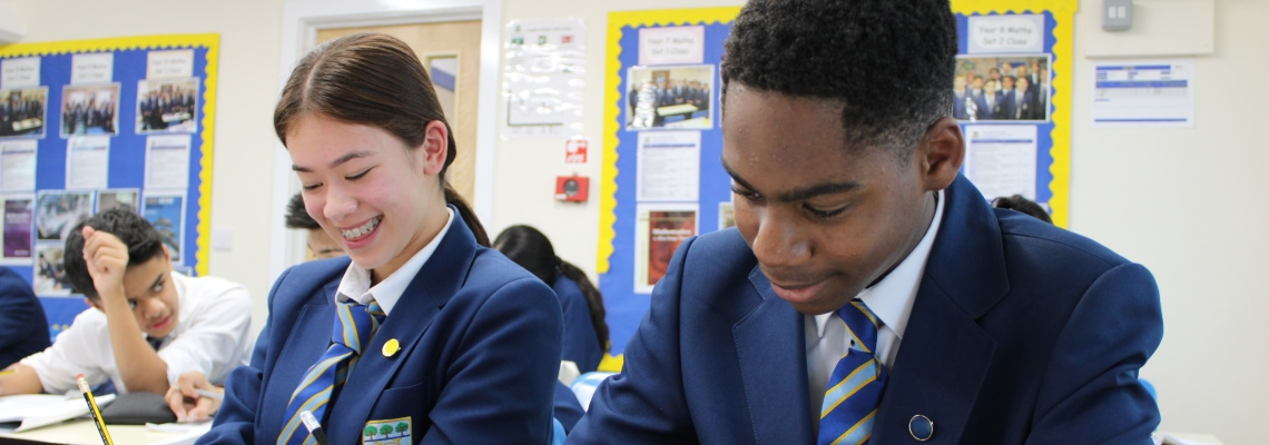 Pupils learning at Normanhurst School