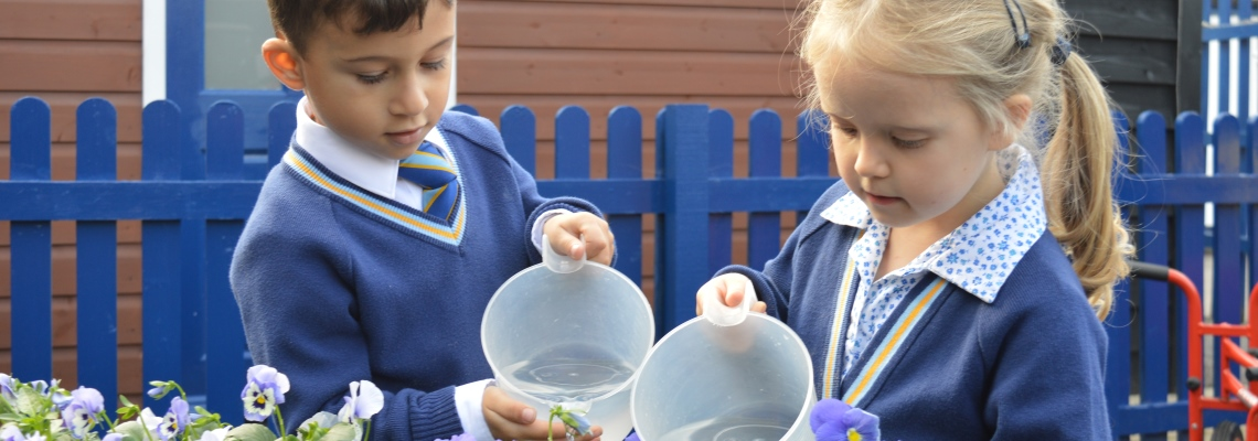 Outdoor learning at Normanhurst
