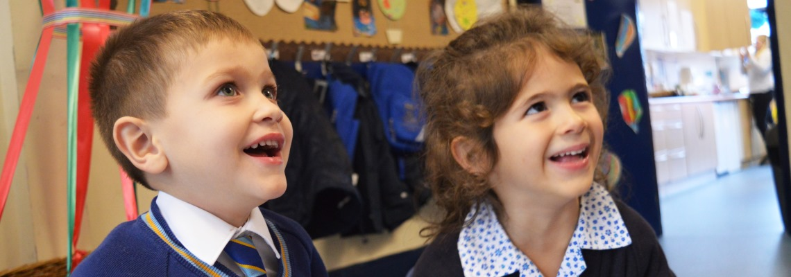 Early Years learning at Normanhurst